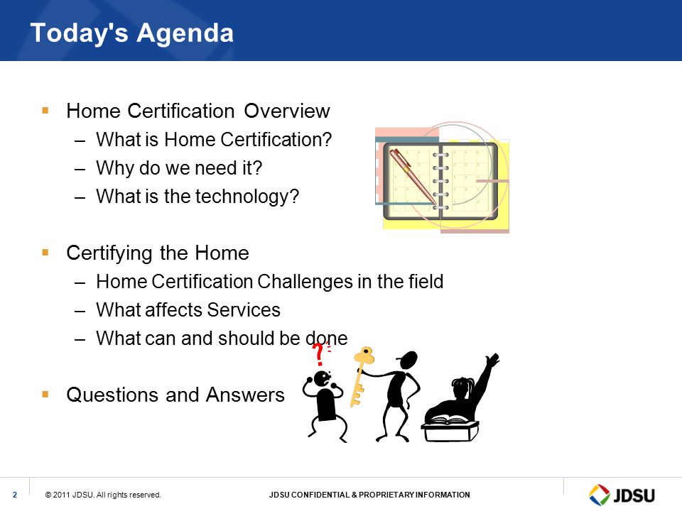 Today s Agenda Home Certification Overview Certifying the Home