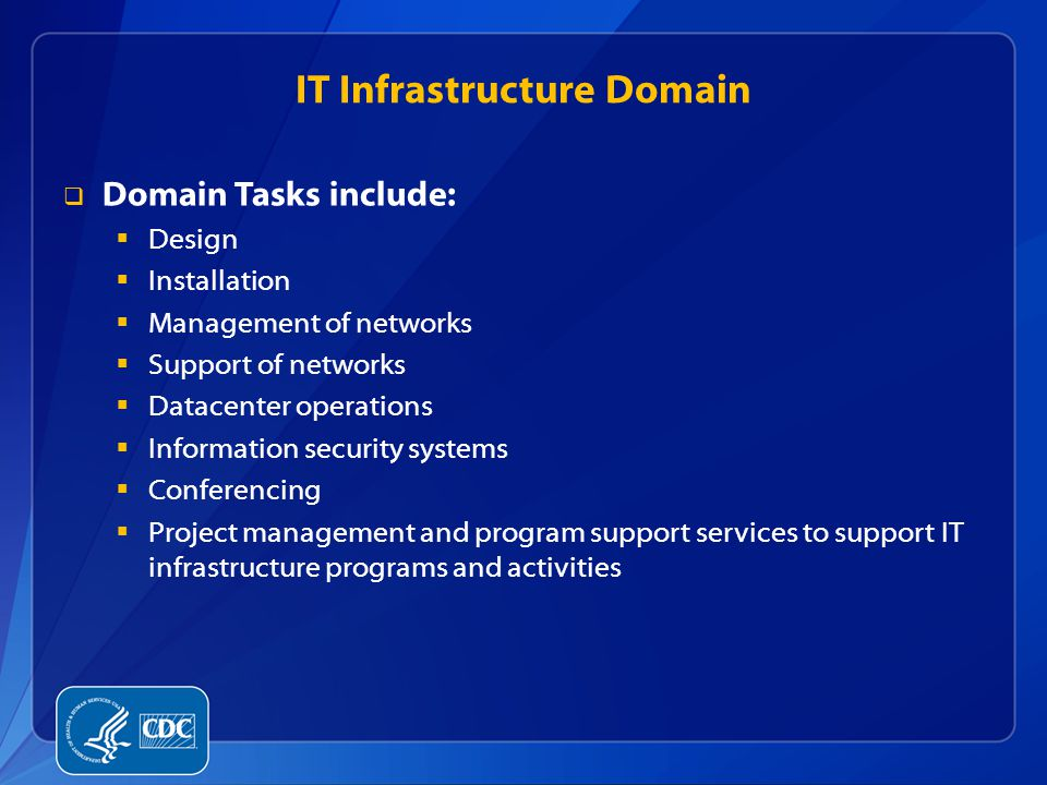 IT Infrastructure Domain