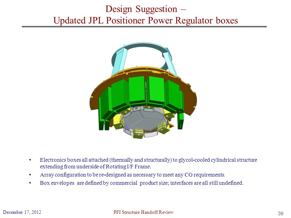 Design Suggestion – Updated JPL Positioner Power Regulator boxes