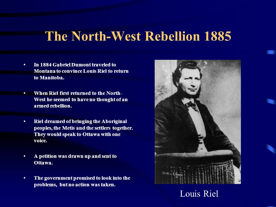 The North-West Rebellion 1885