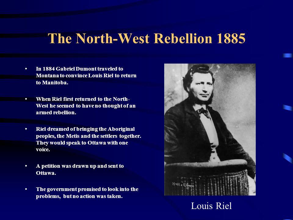 louis riel northwest rebellion