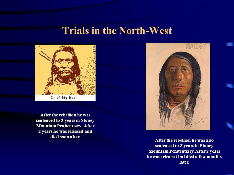 Trials in the North-West