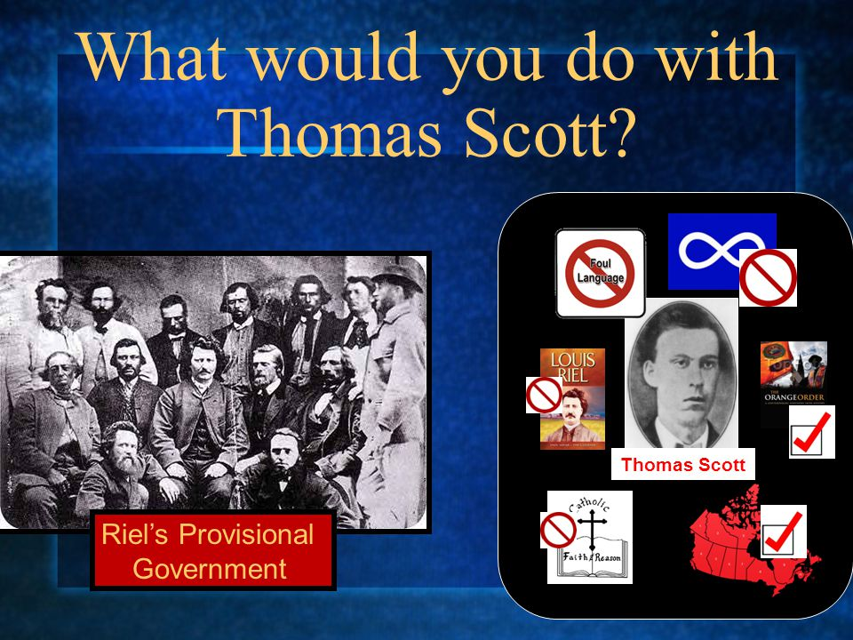 What would you do with Thomas Scott