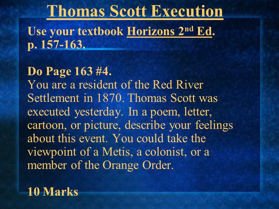 Thomas Scott Execution