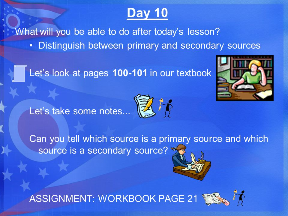 Day 10 What will you be able to do after today's lesson