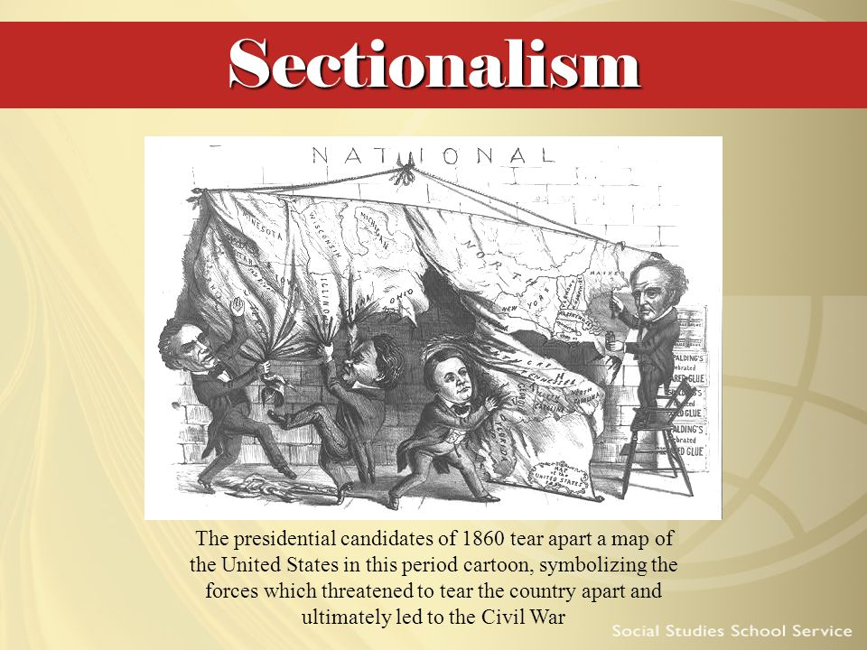 why the war came the sectional For instance, by the eve of the civil war the sectional argument had become so far advanced that a significant number of southerners were convinced that yankees, like negroes, constituted an entirely different race of people from themselves.