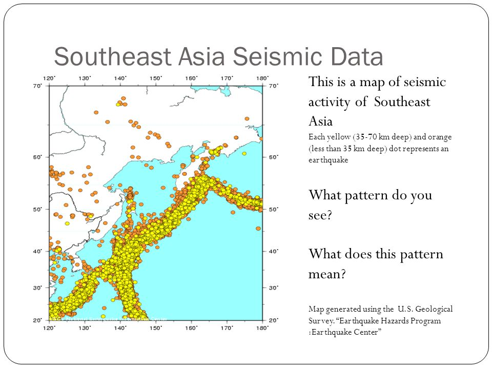 Southeast Asia Seismic Data