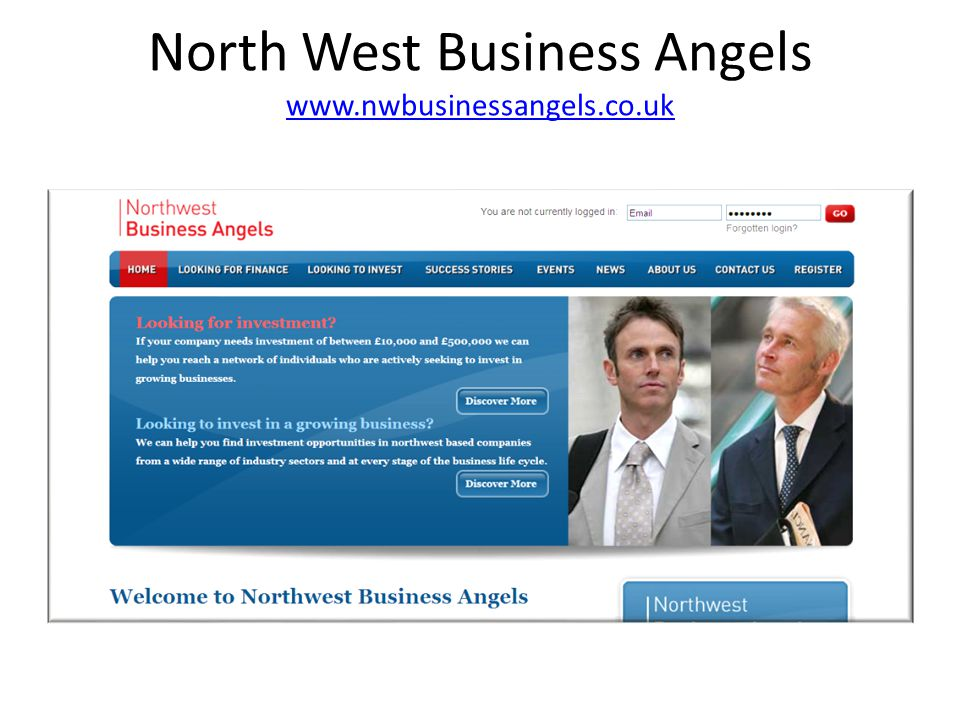 North West Business Angels www.nwbusinessangels.co.uk