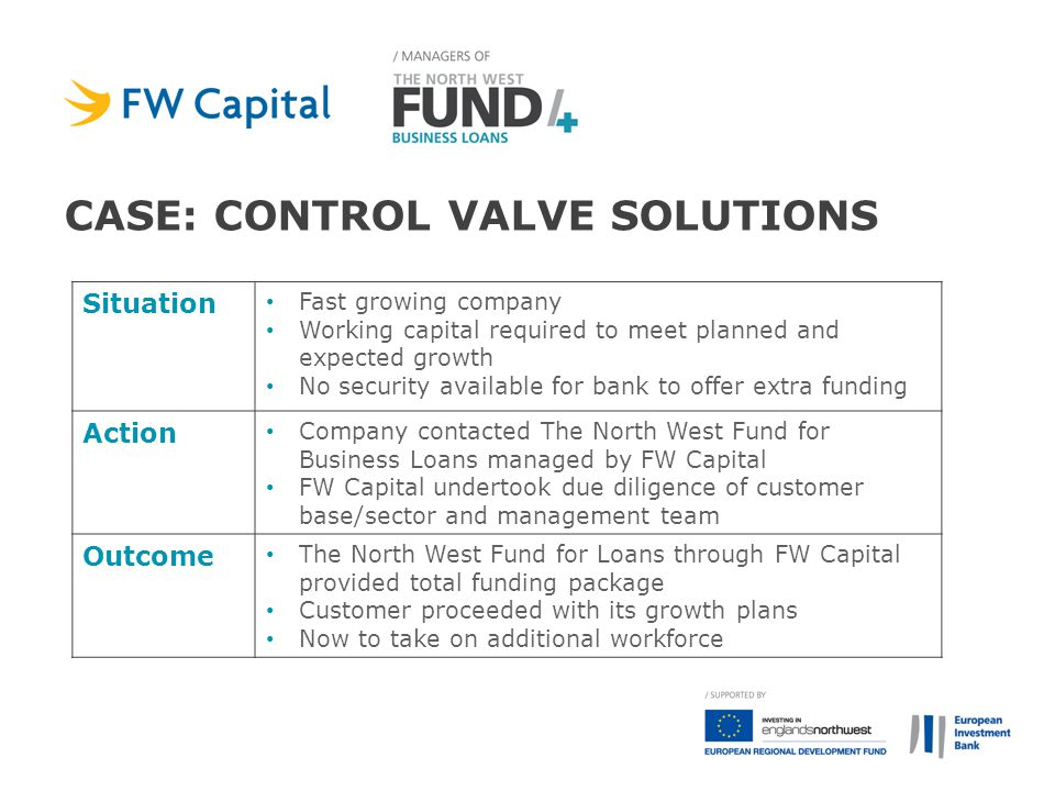 case: control valve solutions