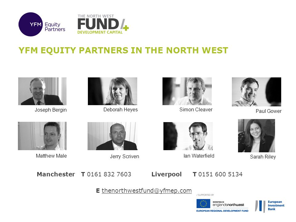 YFM Equity partners in the north west