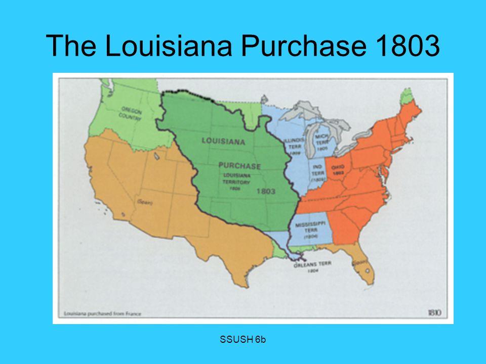 The Louisiana Purchase 1803