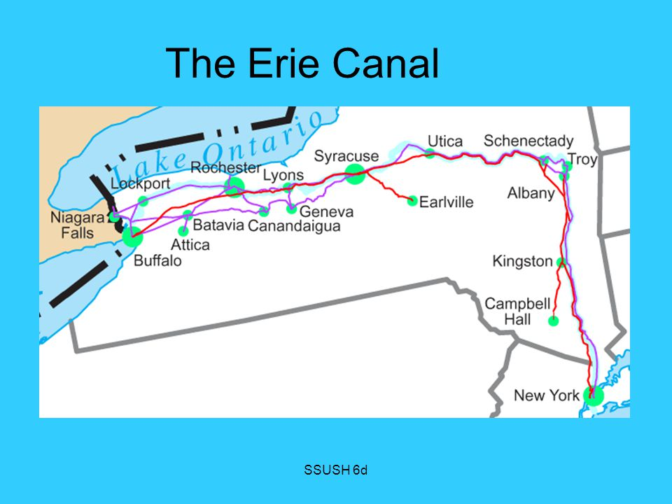 The Erie Canal SSUSH 6d
