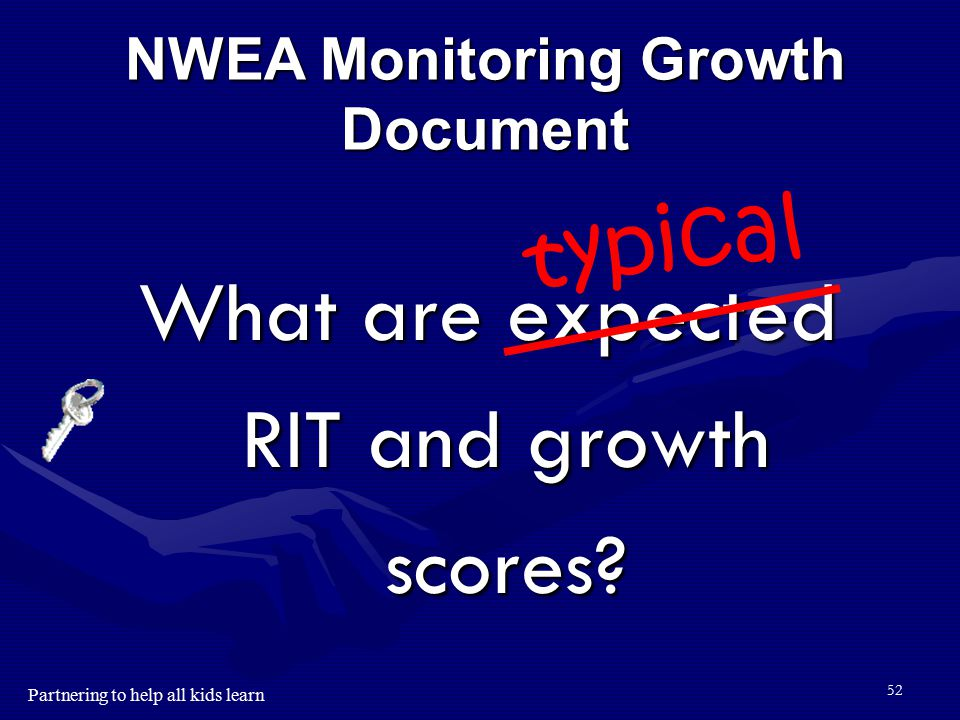 NWEA Monitoring Growth Document