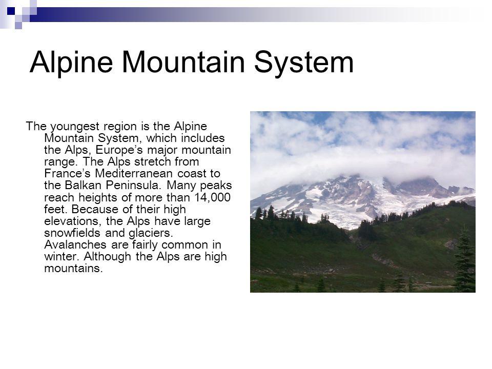 Alpine Mountain System