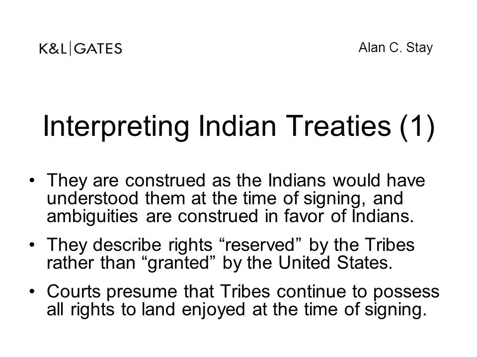 Interpreting Indian Treaties (1)