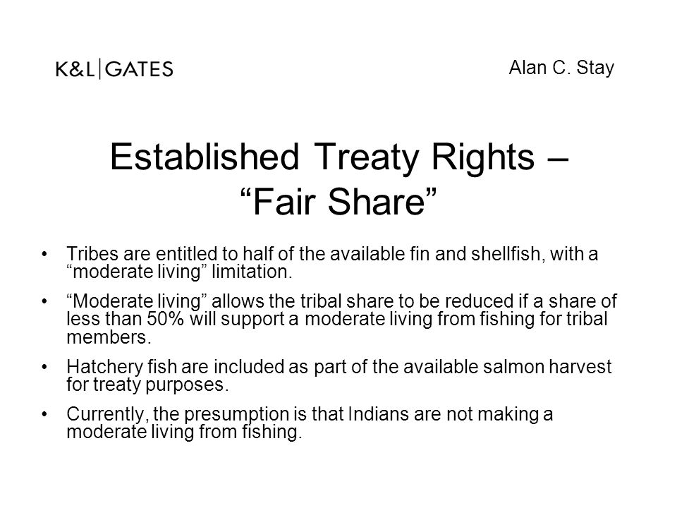 Established Treaty Rights – Fair Share