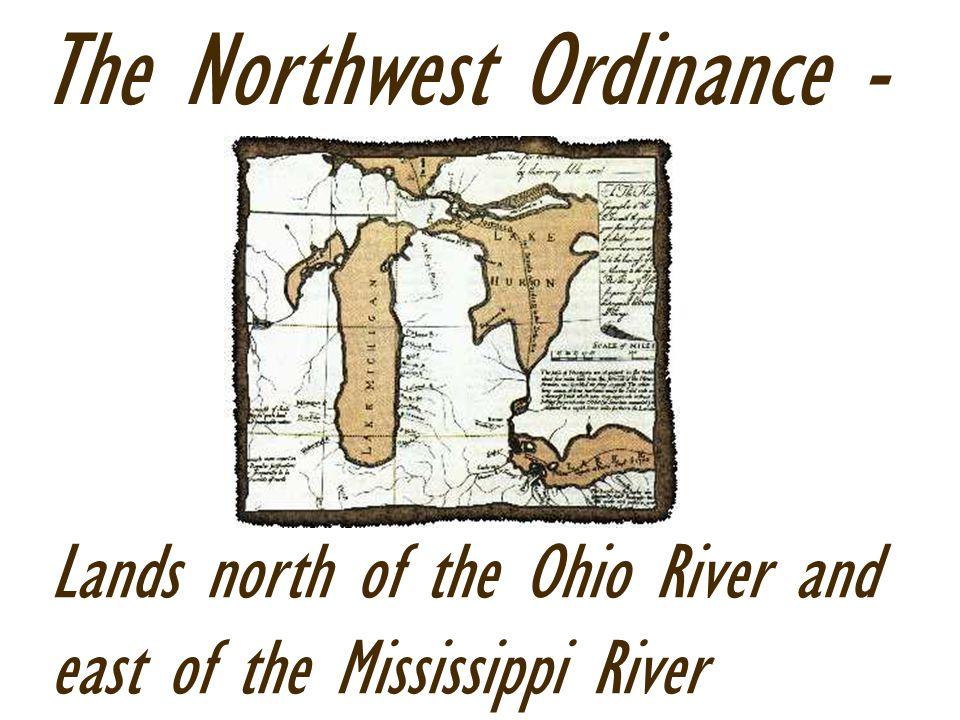 The Northwest Ordinance -