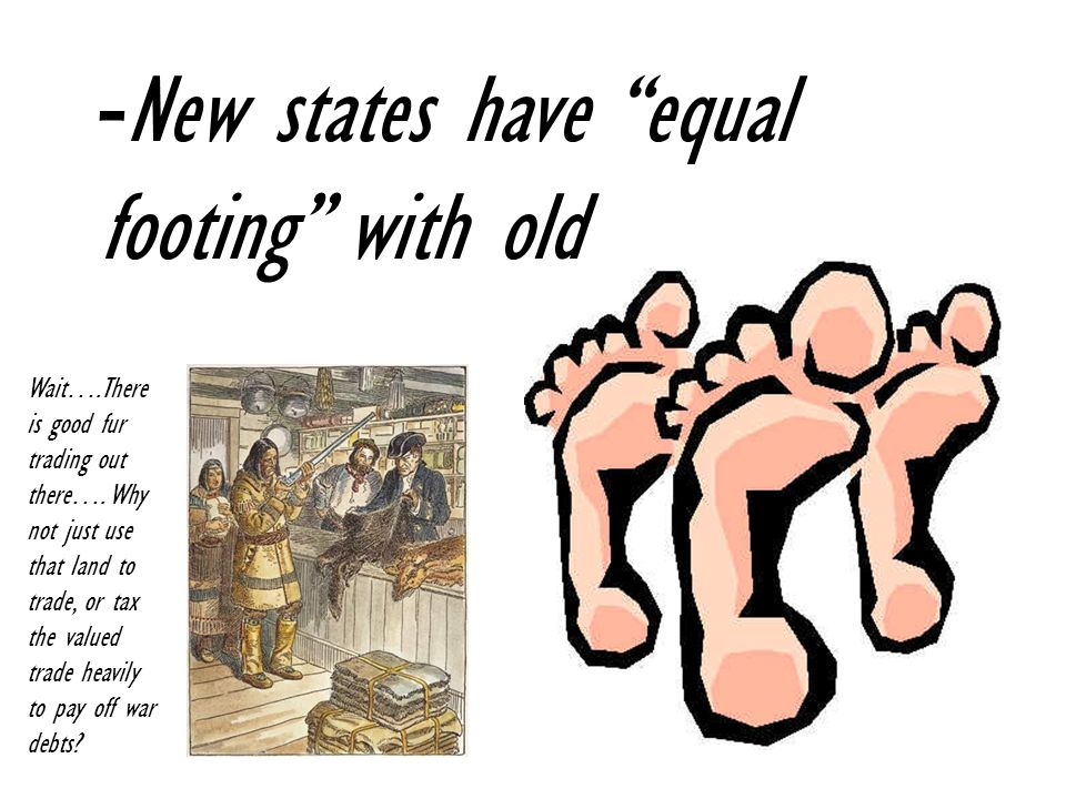 New states have equal footing with old