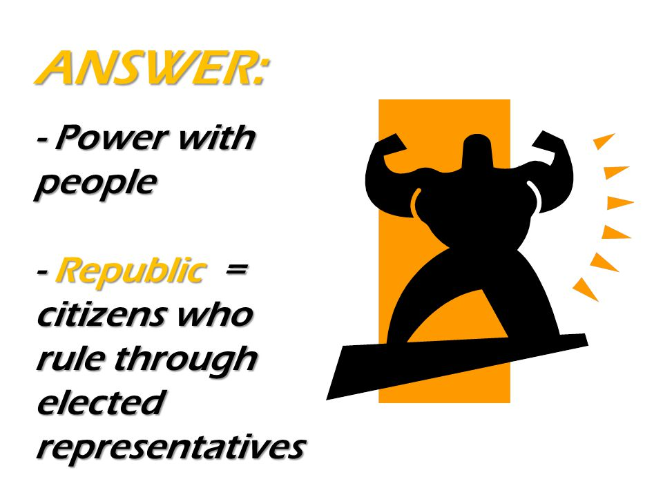 ANSWER: - Power with people