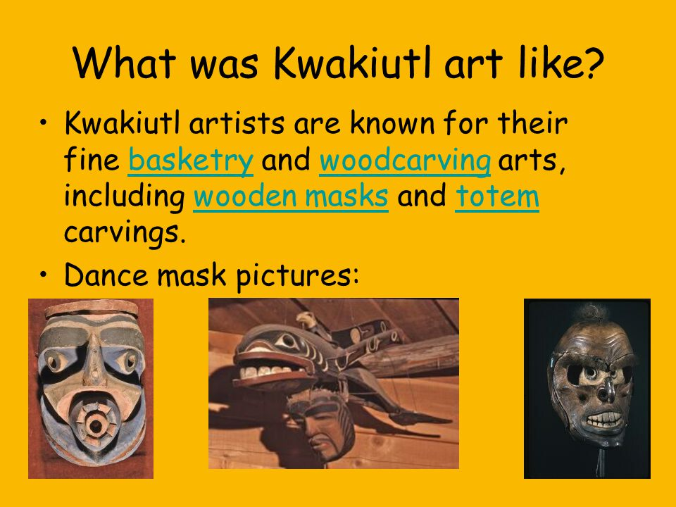 What was Kwakiutl art like