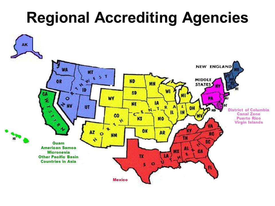 Regional Accrediting Agencies