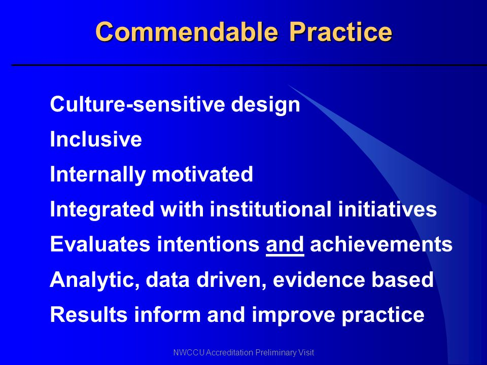 Commendable Practice Culture-sensitive design Inclusive