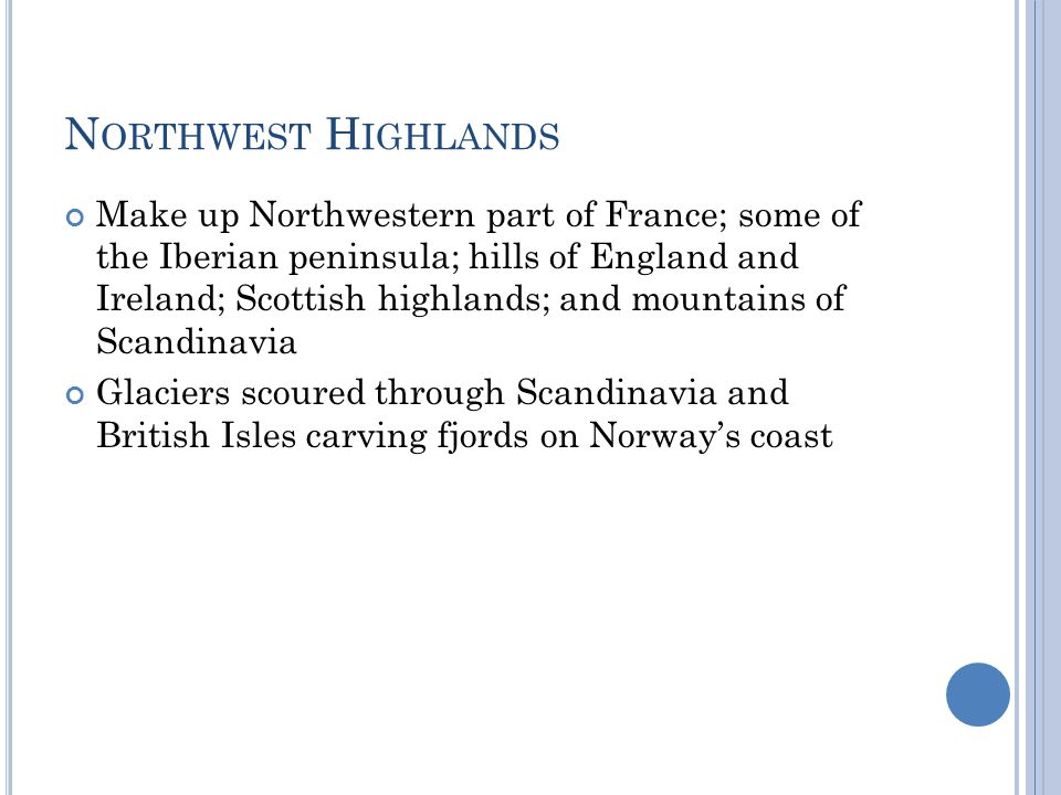 Northwest Highlands