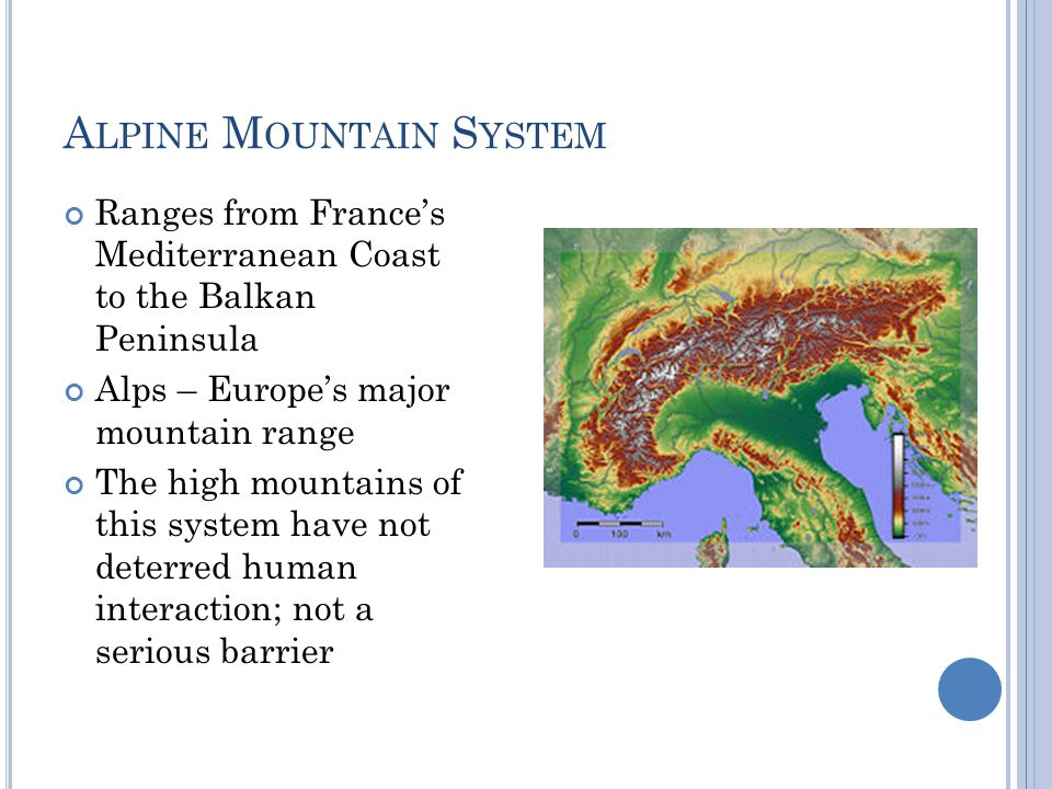Alpine Mountain System