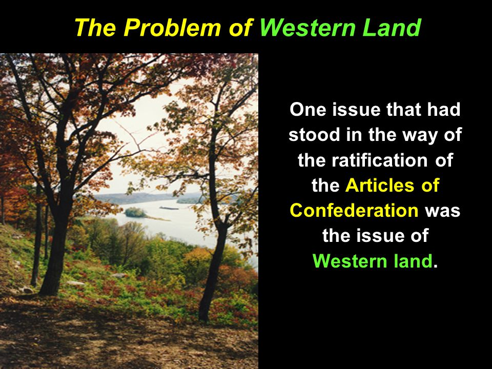 The Problem of Western Land