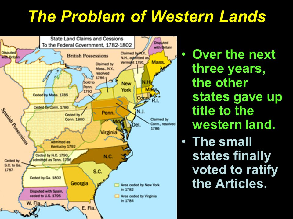 The Problem of Western Lands