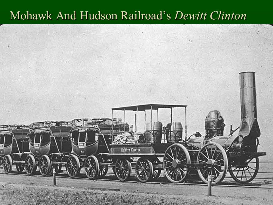 Mohawk And Hudson Railroad's Dewitt Clinton