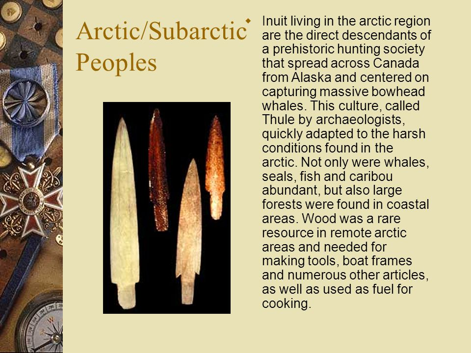 Arctic/Subarctic Peoples