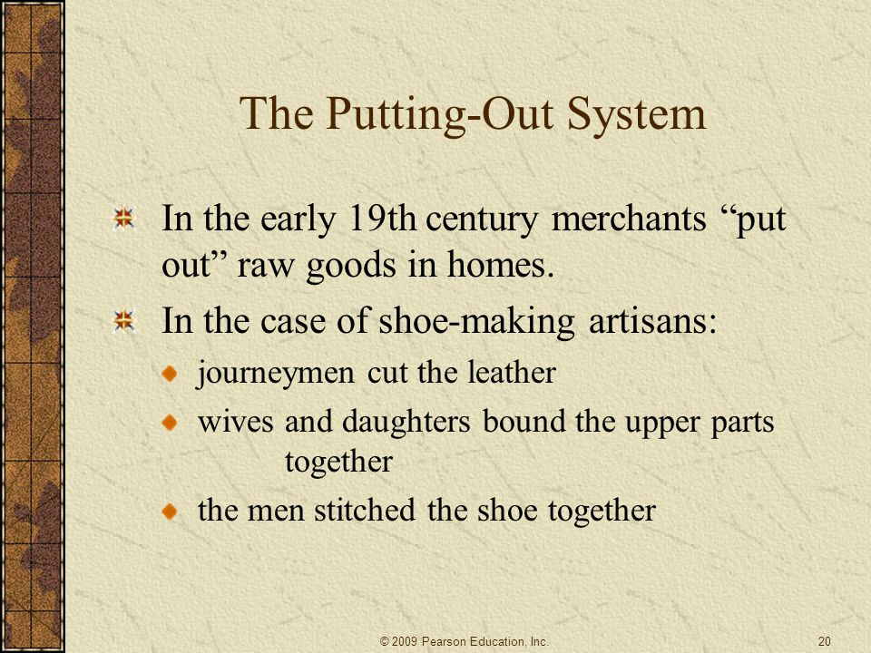 The Putting-Out System