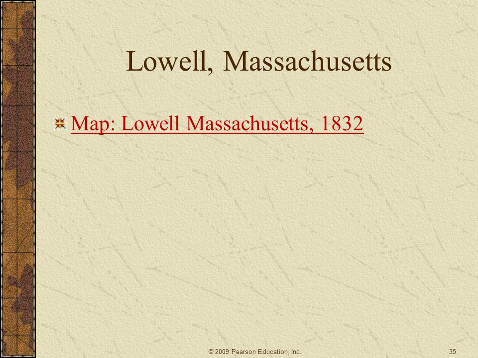 Lowell, Massachusetts Map: Lowell Massachusetts, 1832