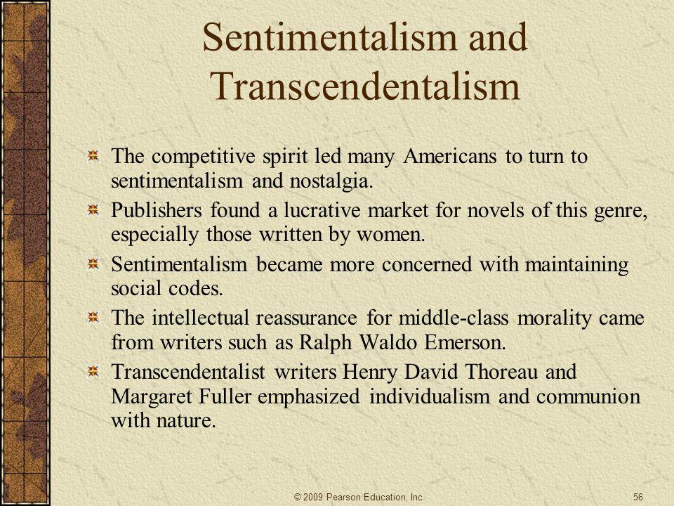Sentimentalism and Transcendentalism