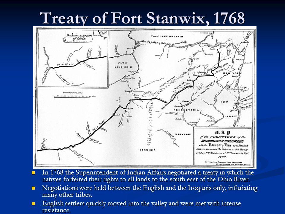 Treaty of Fort Stanwix, 1768