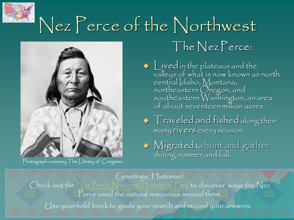 Nez Perce of the Northwest