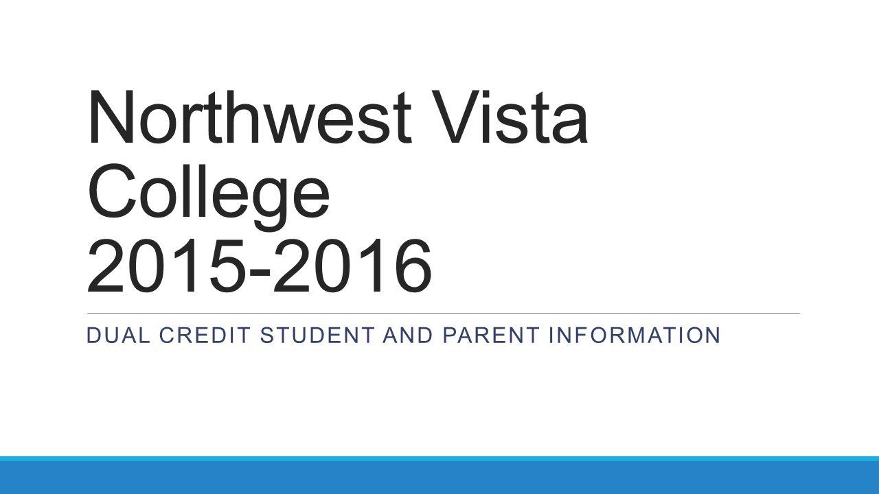 Northwest Vista College 2015-2016