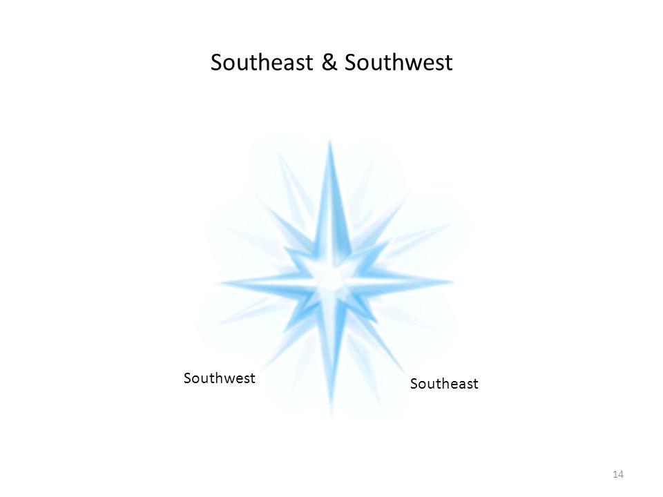 Southeast & Southwest Southwest Southeast