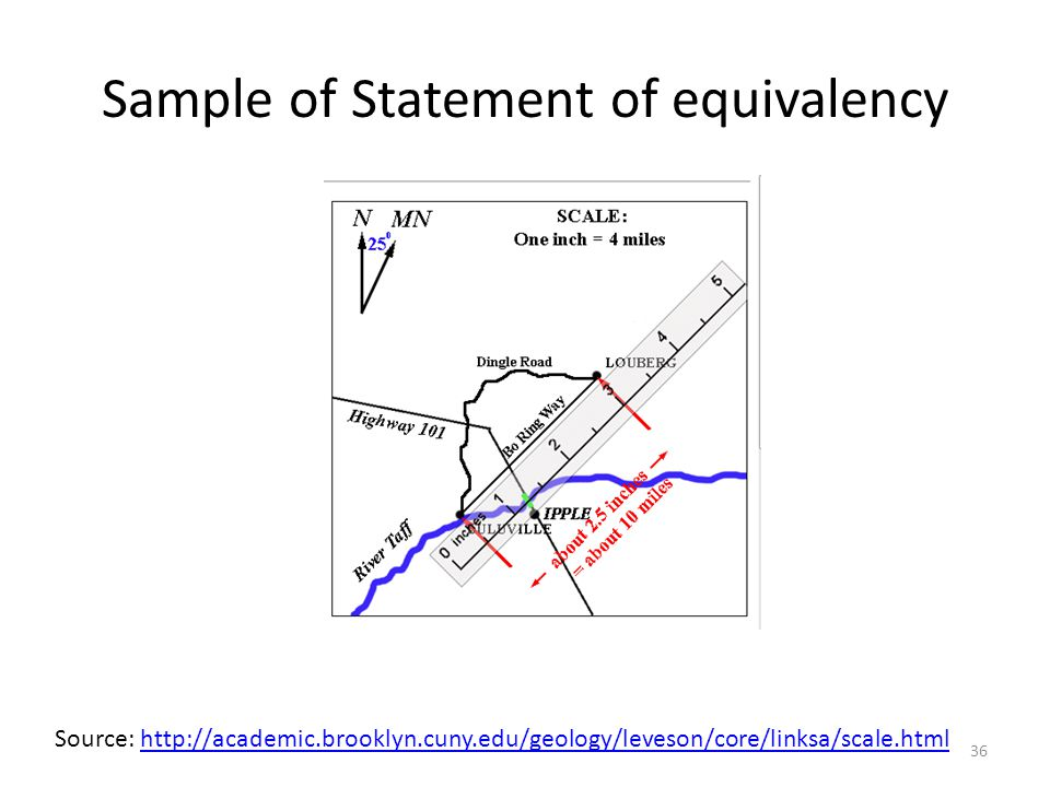 Sample of Statement of equivalency