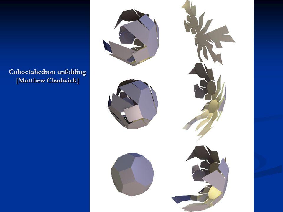 Cuboctahedron unfolding