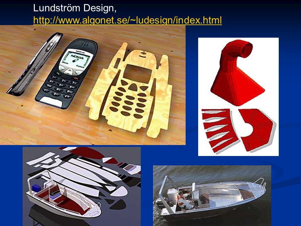 Lundström Design, http://www.algonet.se/~ludesign/index.html