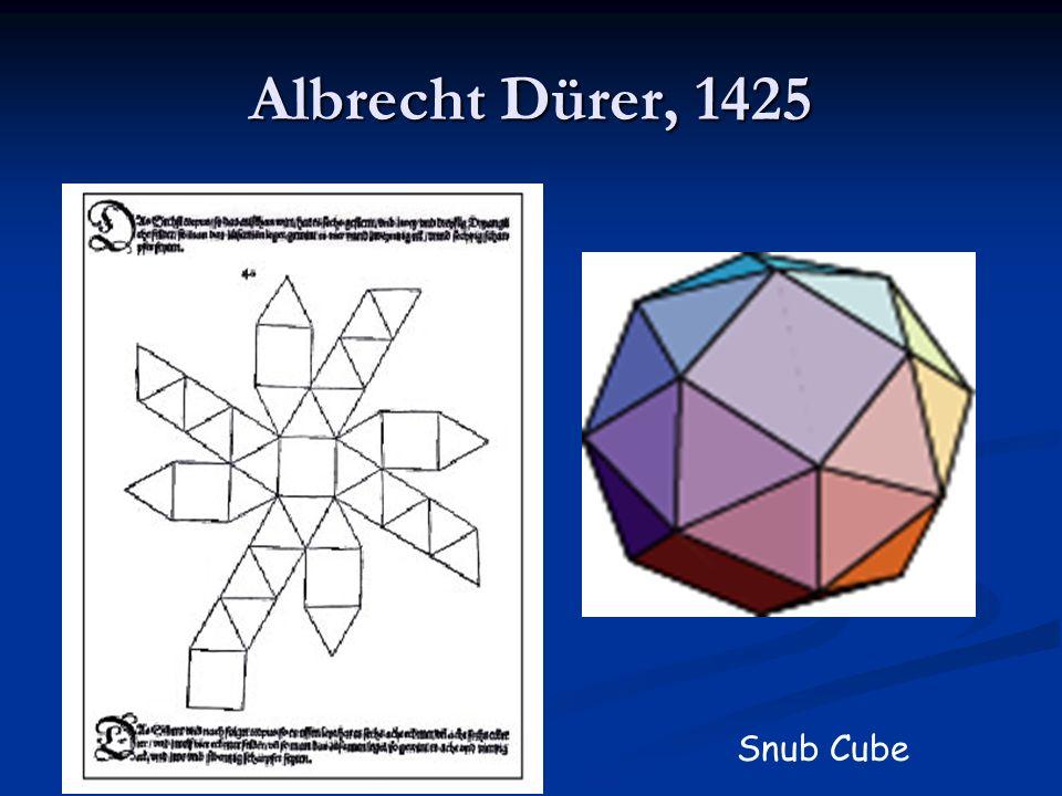Albrecht Dürer, 1425 Snub Cube
