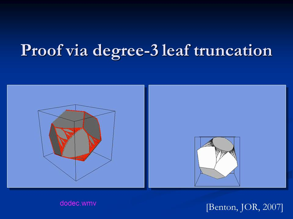 Proof via degree-3 leaf truncation