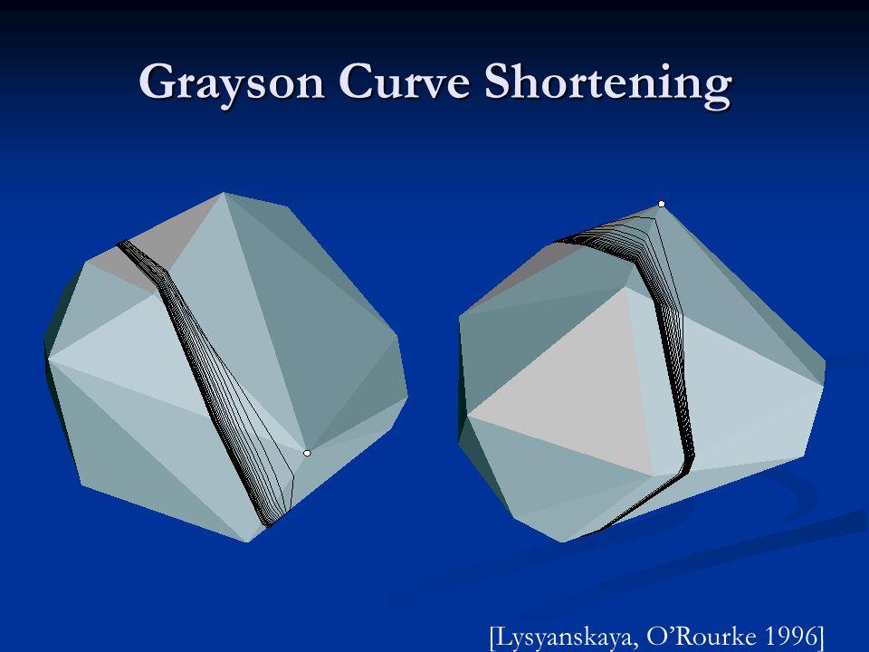 Grayson Curve Shortening
