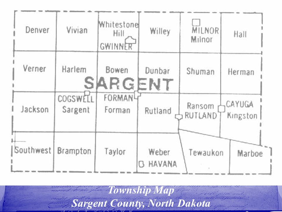 Sargent County, North Dakota