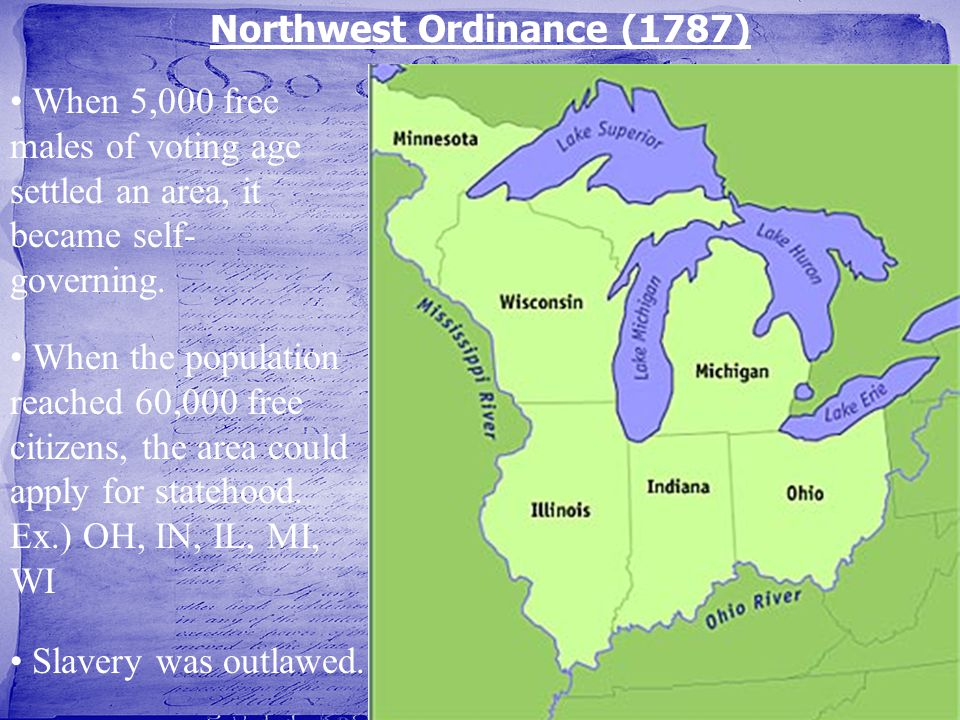 Northwest Ordinance (1787)