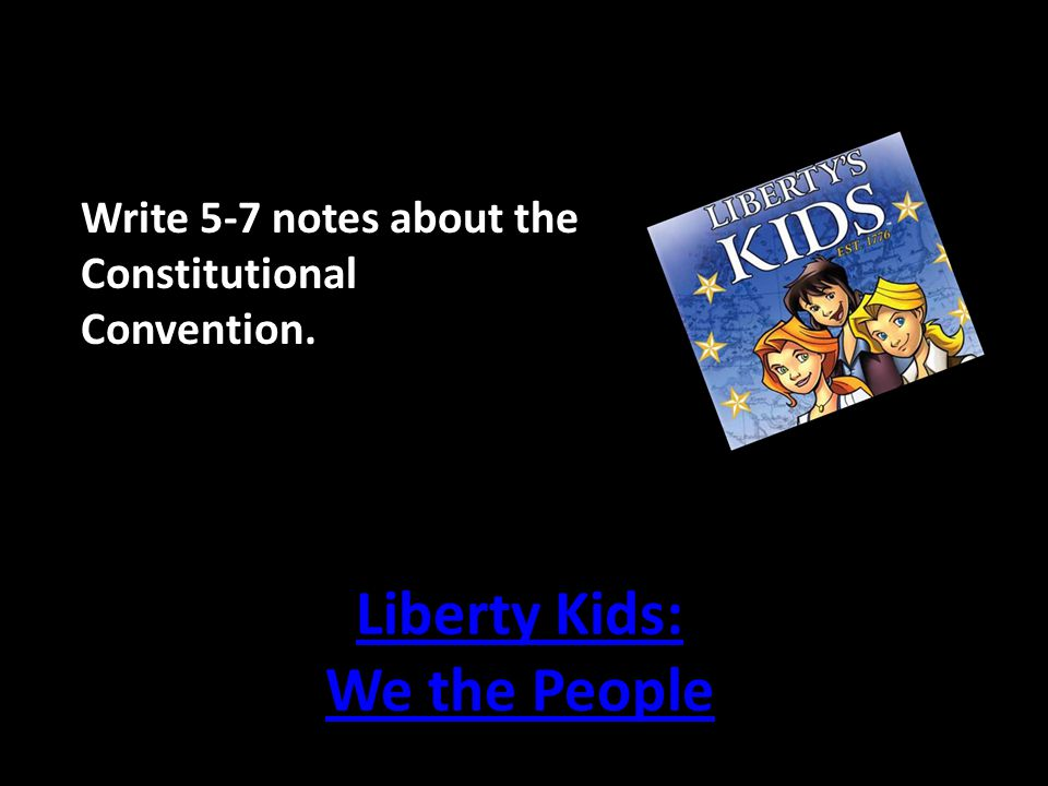 Liberty Kids: We the People