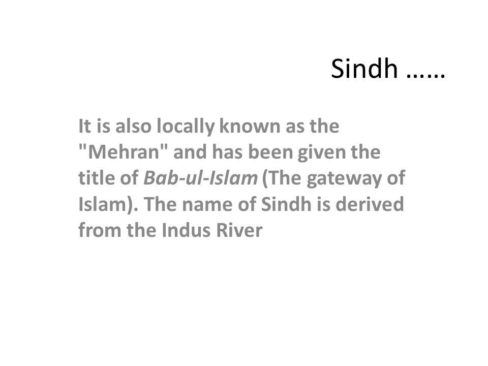 Sindh ……