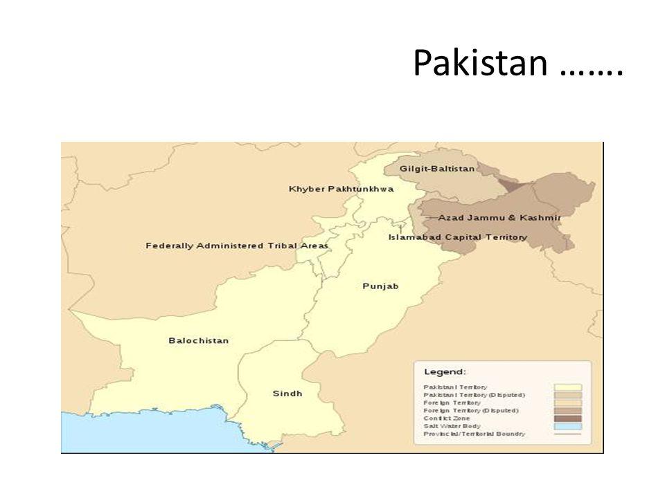 Pakistan …….